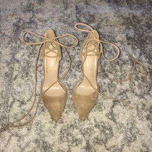 Base tie up heels
